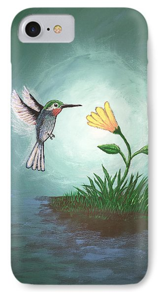 Hummingbird II IPhone Case by Antonio Romero