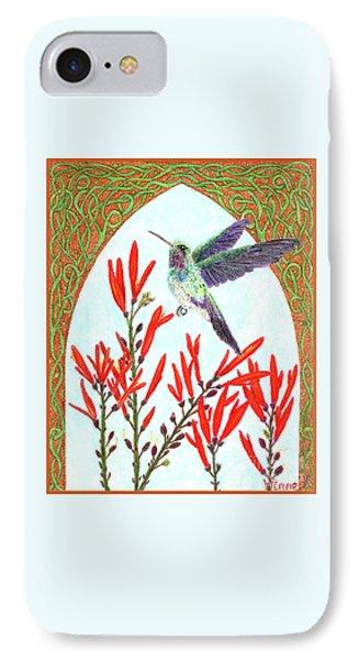 Hummingbird In Opening IPhone Case