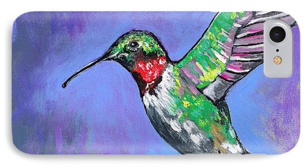 Hummingbird IPhone Case by Kim Heil