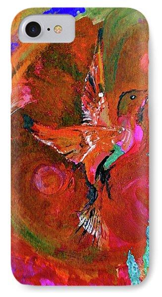 Hummingbird IPhone Case by Lisa Kaiser