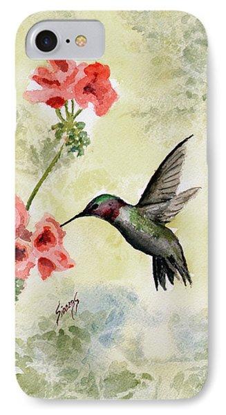 Hummingbird IPhone Case by Sam Sidders