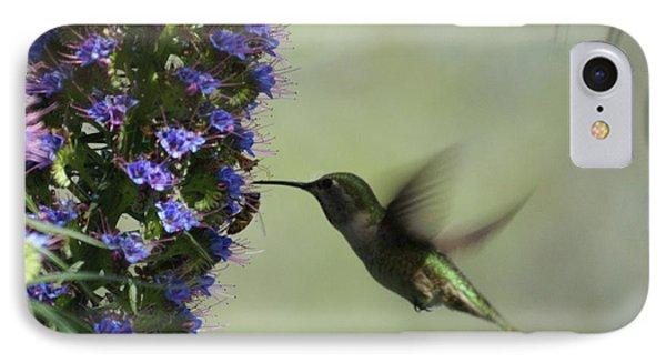 Hummingbird Sharing Phone Case by Ernie Echols