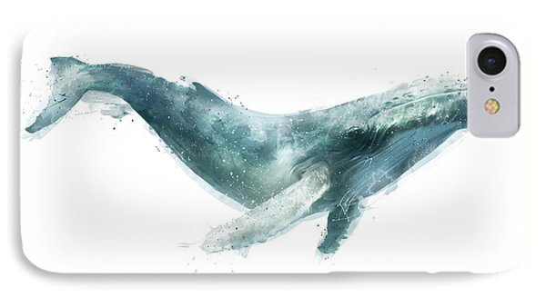 Humpback Whale From Whales Chart IPhone 7 Case by Amy Hamilton
