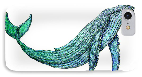 Humpback Whale Phone Case by Nick Gustafson