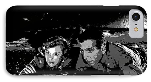 Humphrey Bogart June Allyson IPhone Case by Charles Shoup