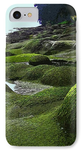 Humps And Bumps, Gabriola Shoreline IPhone Case