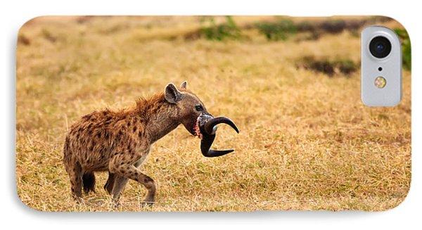 Hungry Hyena Phone Case by Adam Romanowicz