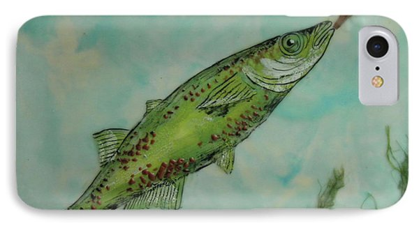 Hungry IPhone Case by Terry Honstead