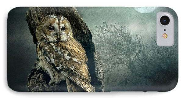 Hunter's Moon IPhone Case by Brian Tarr