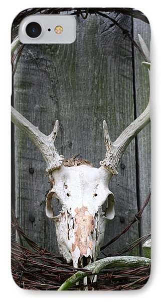 IPhone Case featuring the photograph Hunters Wreath by Diane Merkle