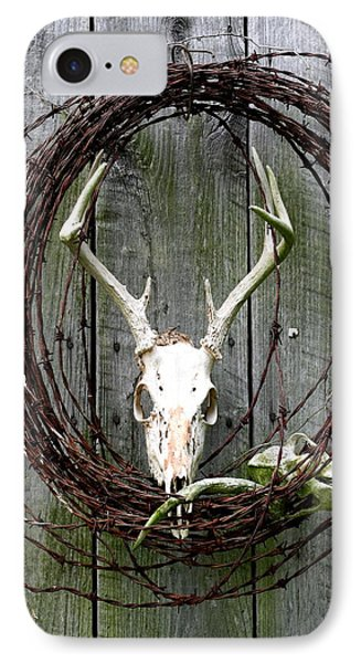 Hunters Wreath Variation IPhone Case by Diane Merkle