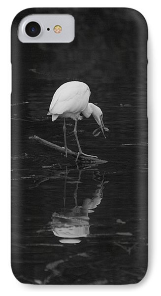 IPhone Case featuring the photograph Hunting Egret by Joshua House