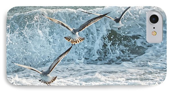 Hunting The Waves IPhone Case by Don Durfee