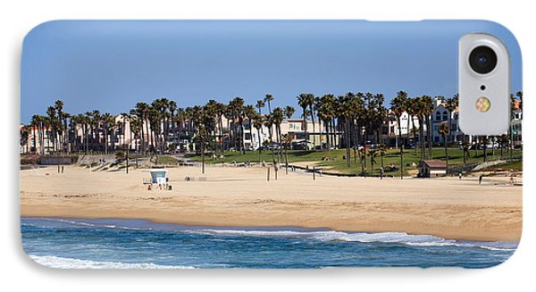 Huntington Beach California IPhone Case by Paul Velgos