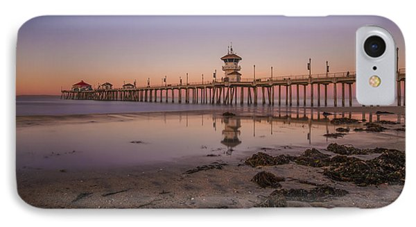 IPhone Case featuring the photograph Huntington Beach Pier by Sean Foster