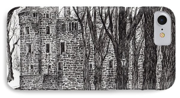 Huntly Castle IPhone Case by Vincent Alexander Booth