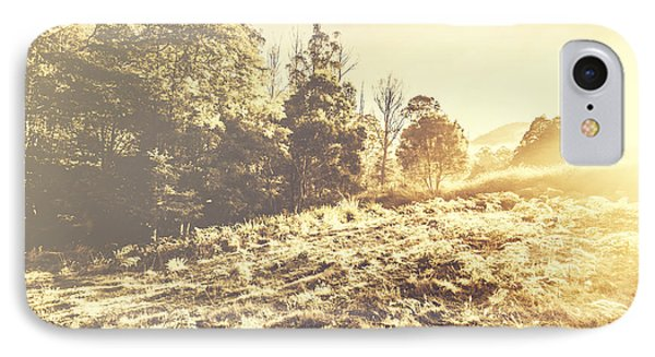 Huon Valley Vintage Landscape IPhone Case