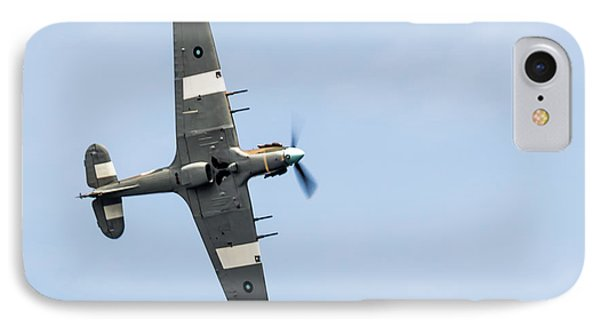 IPhone Case featuring the photograph Hurricane From Below Sunderland Air Show 2014 by Scott Lyons