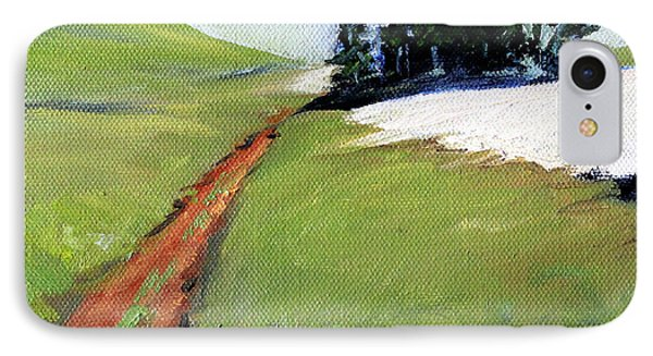 IPhone Case featuring the painting Hurricane Hill by Nancy Merkle