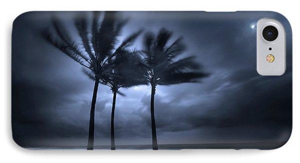 Hurricane Matthew IPhone Case by Mark Andrew Thomas