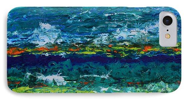 Hurricane Season Begins IPhone Case by Donna Blackhall