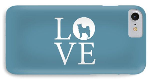 Husky Love IPhone Case by Nancy Ingersoll