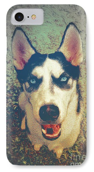 Husky Modern IPhone Case by Angela Doelling AD DESIGN Photo and PhotoArt