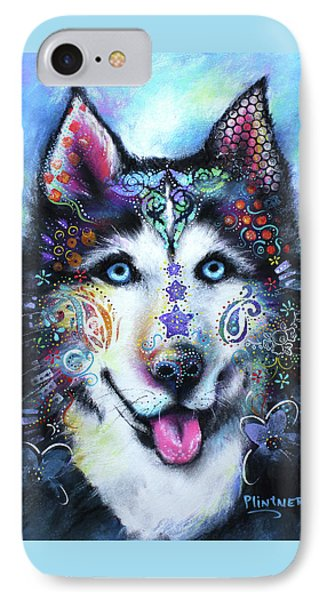 Husky IPhone Case by Patricia Lintner