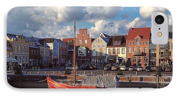Husum Port - Northern Germany IPhone Case