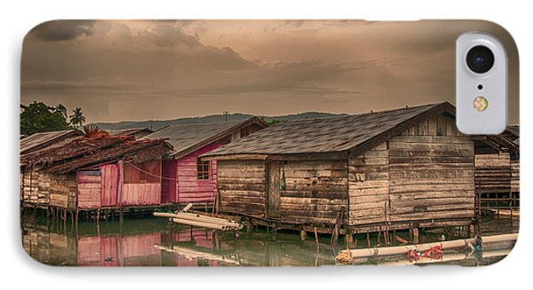 IPhone Case featuring the photograph Huts In South Sulawesi by Charuhas Images