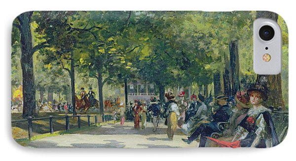 Hyde Park - London  IPhone Case by Count Girolamo Pieri Nerli