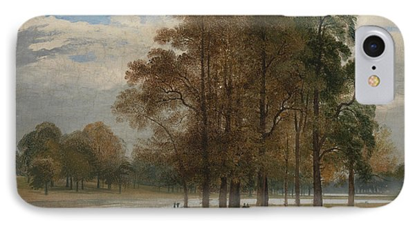 Hyde Park IPhone 7 Case by John Martin