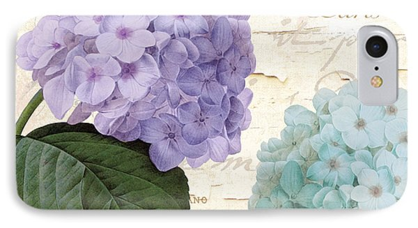 Hydrangea Hortensia IPhone Case by Mindy Sommers