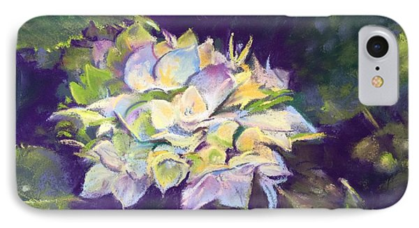 IPhone Case featuring the pastel Hydrangea by Rebecca Matthews