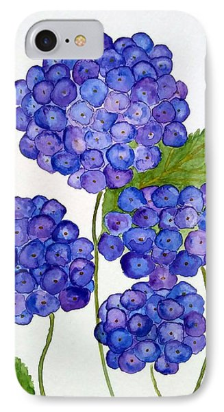 Hydrangea IPhone Case by Reina Resto