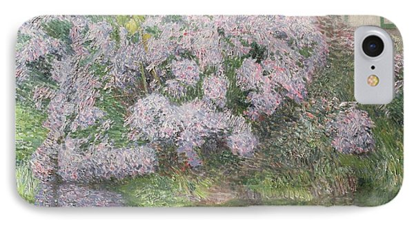 Hydrangeas On The Banks Of The River Lys Phone Case by Emile Claus