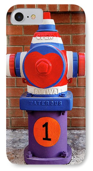Hydrant Number One IPhone Case by James Eddy