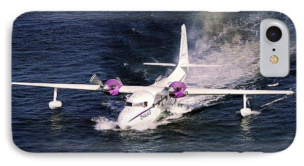 Hydroplane Splashdown Phone Case by Sally Weigand