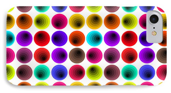 Hypnotized Optical Illusion IPhone Case by Sumit Mehndiratta
