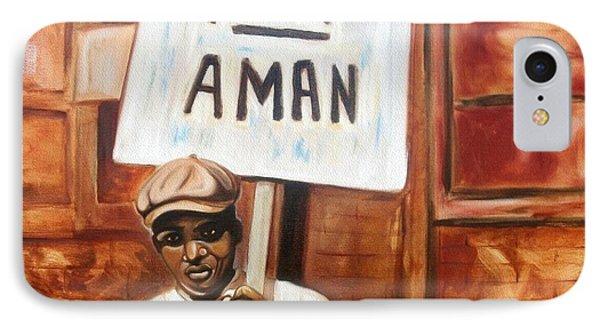 I Am A Man Phone Case by Emery Franklin