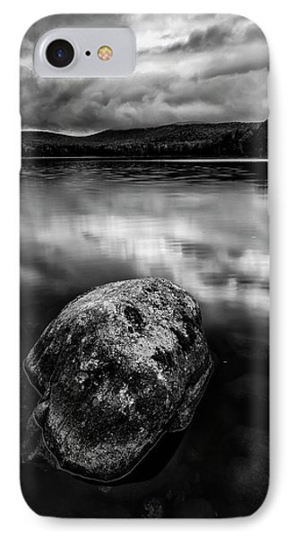 IPhone Case featuring the photograph I Am A Rock by Mike Lang