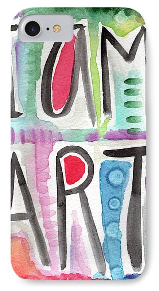 I Am Art IPhone Case by Linda Woods