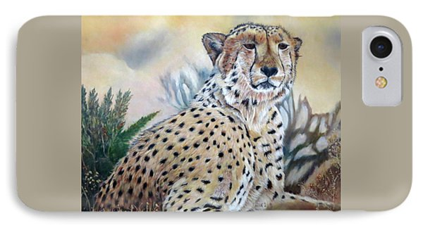 I Am Cheetah 2 IPhone Case by Marilyn  McNish