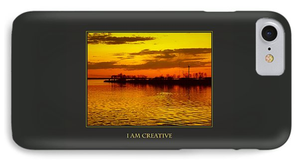 I Am Creative IPhone Case by Donna Corless