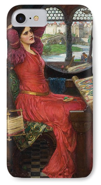 I Am Half Sick Of Shadows Said The Lady Of Shalott IPhone Case by John William Waterhouse