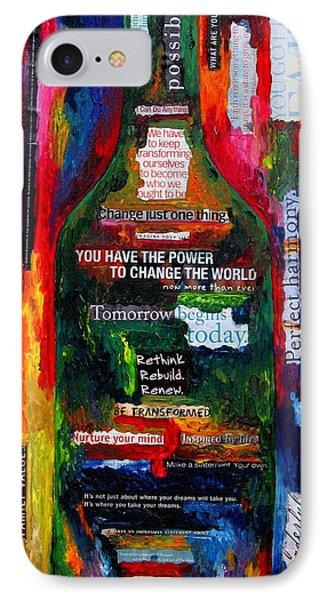 I Am Inspired Phone Case by Patti Schermerhorn