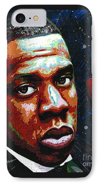 I Am Jay Z IPhone Case by Maria Arango