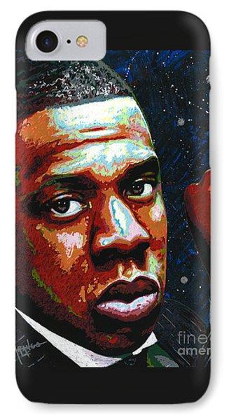I Am Jay Z IPhone 7 Case by Maria Arango