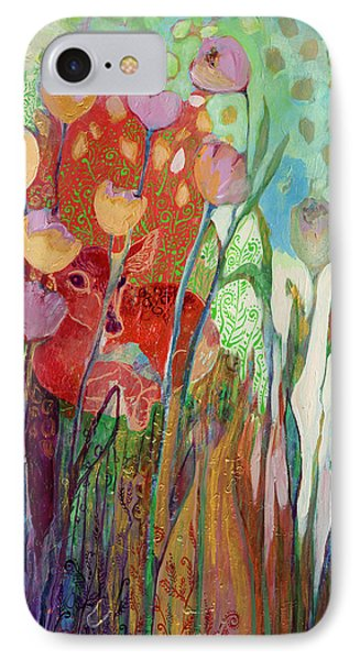 I Am The Grassy Meadow IPhone Case by Jennifer Lommers
