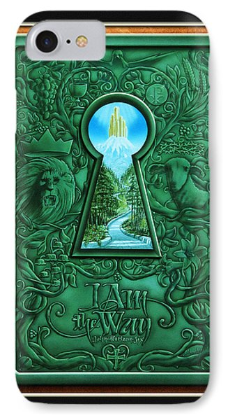 I Am The Way Phone Case by Cliff Hawley